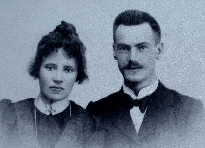 Olav Viken og Thora Aasen